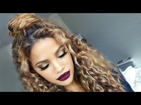 bun hair style 1000 ideas about naturally curly hairstyles on 8113
