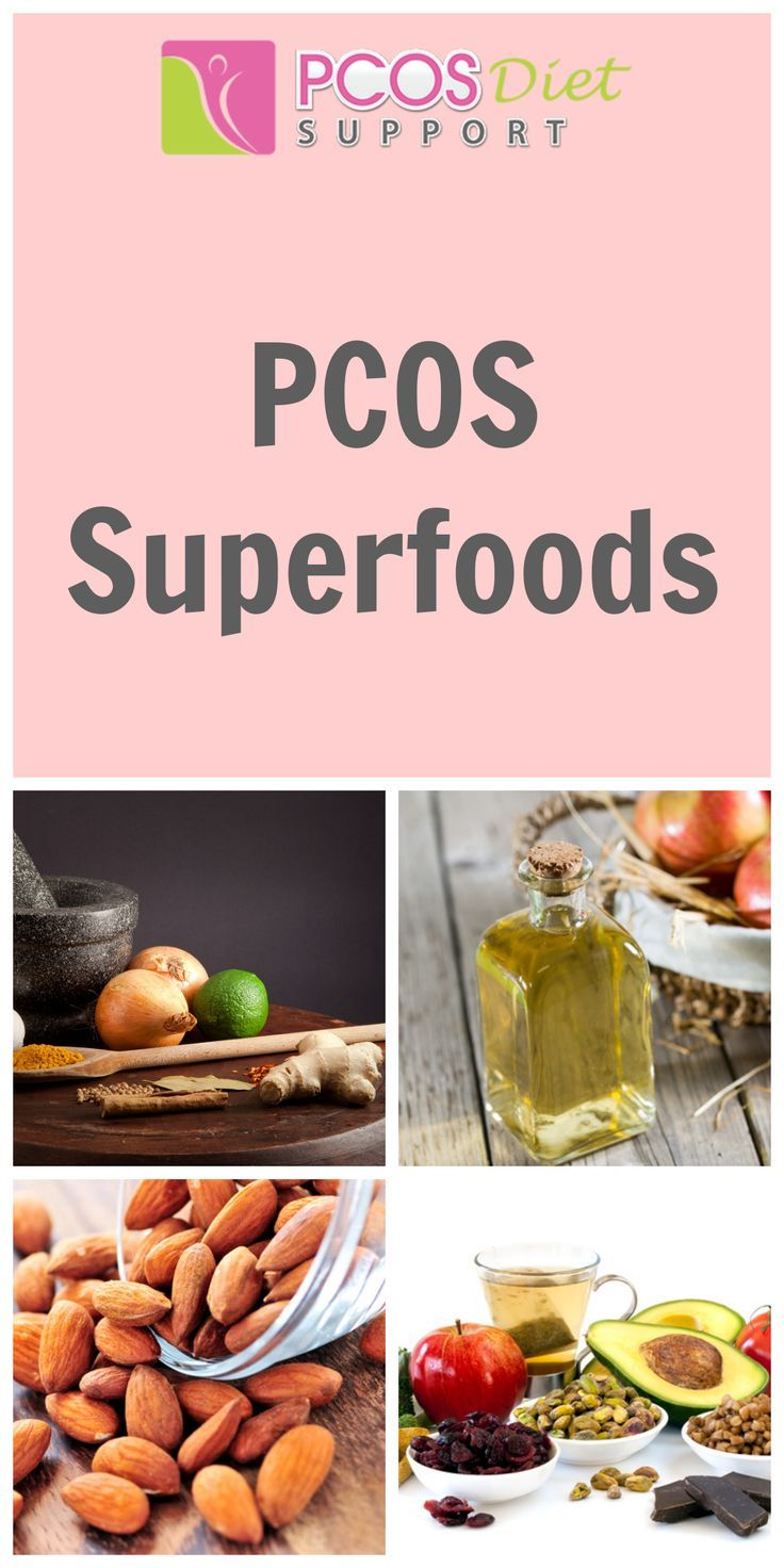 PCOS Vitamins - PCOS Supplements (and)/or  Avocados, Nuts, Cinnamon, Apple cider vinegar, Salmon