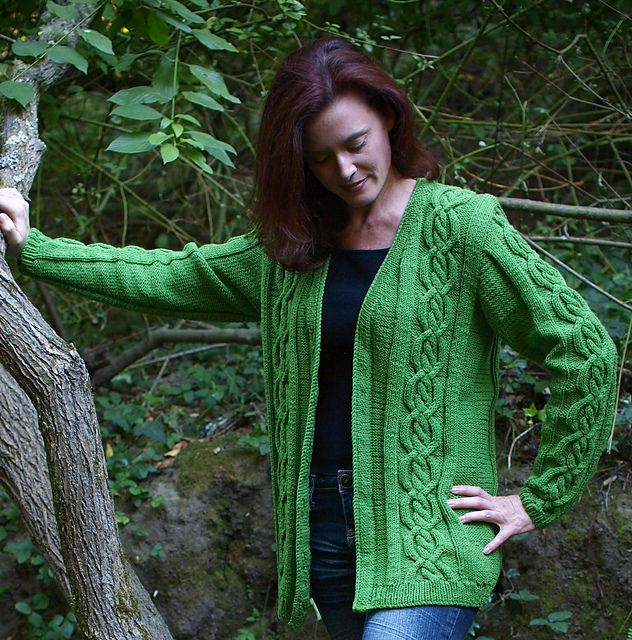 Knitting Patterns For Ladies Jackets Gallery - handicraft ideas home ...
