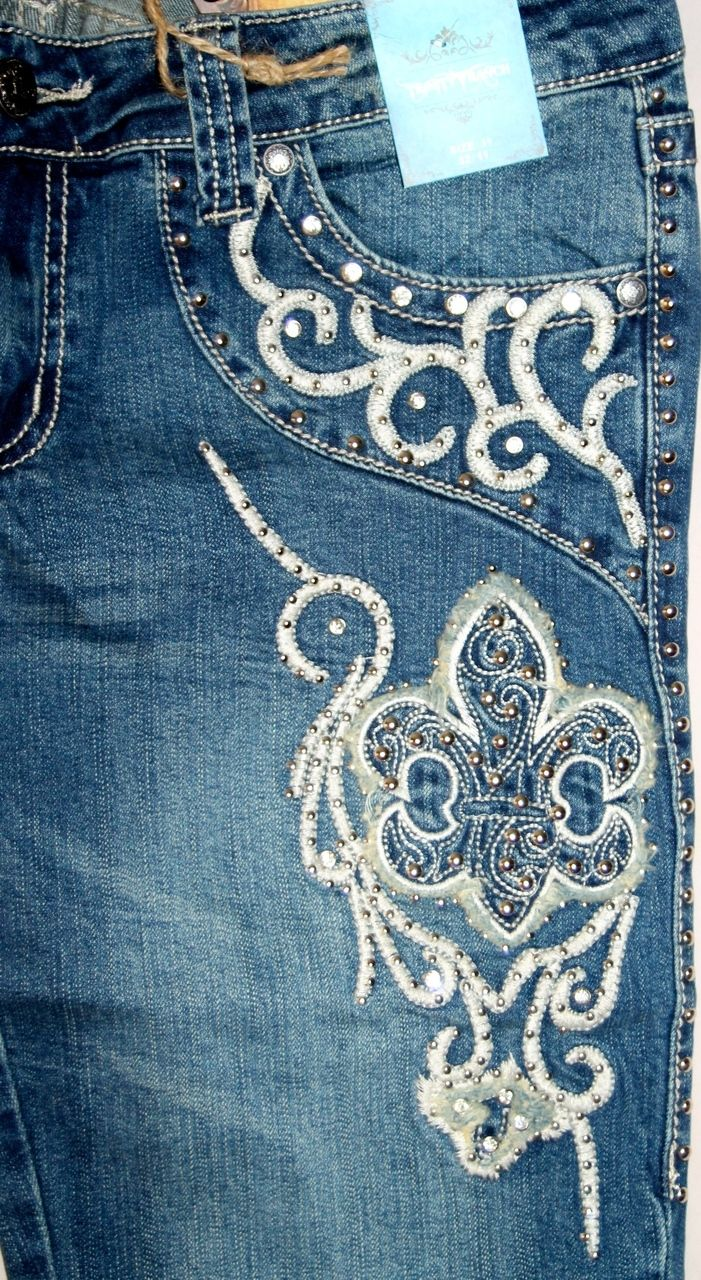 KWMC Motocycle Boutique - JN-TR015 Stretchy Hip Hugger Denim Trinity Ranch Jeans, $59.99 (http://stores.kwmcmotorcycleboutique.com/jn-tr015-stretchy-hip-hugger-denim-trinity-ranch-jeans/)