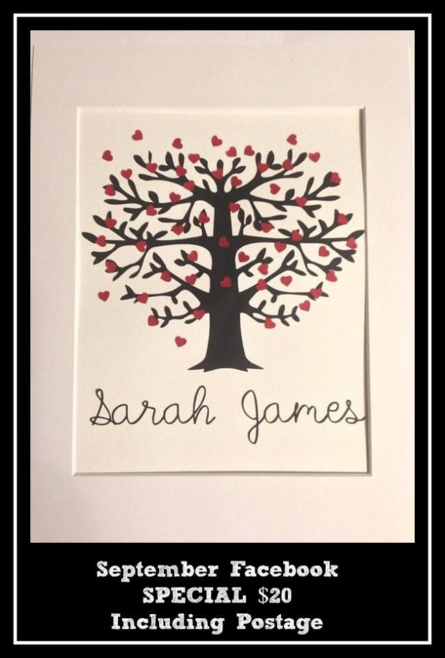 #paper #hearts #love Paper love heart tree with names. Luv this!! Luv all the little hearts, so sweet