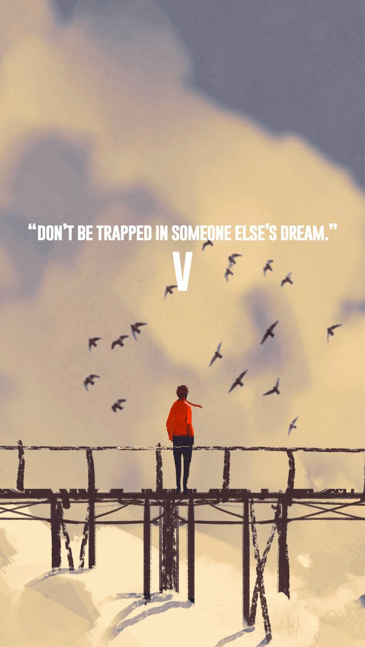 V iphone wallpaper tumblr - Bts V Taehyung Quote Wallpaper