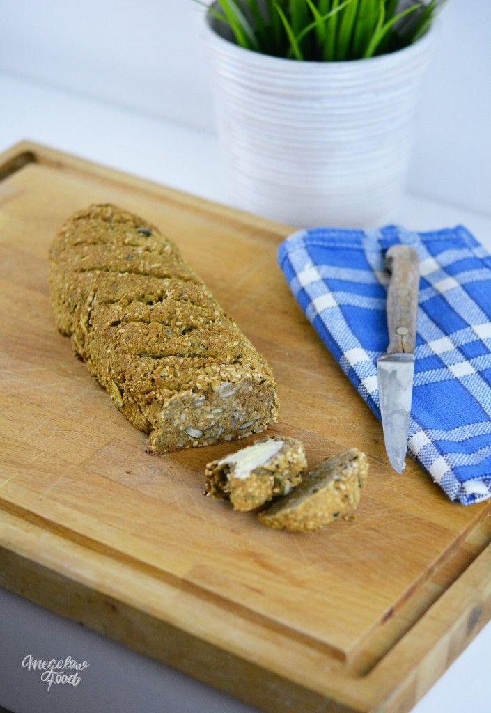 Pain aux graines et à la patate douce – sans gluten – Megalow Food