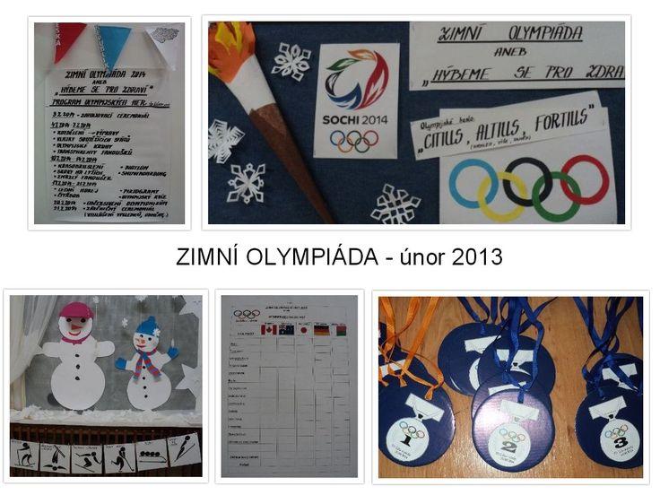 Zimní olympiáda - únor 2013