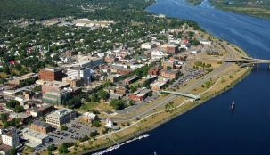 Saint John is the largest city in New Brunswick, Canada and the 2nd largest in the maritime provinces.