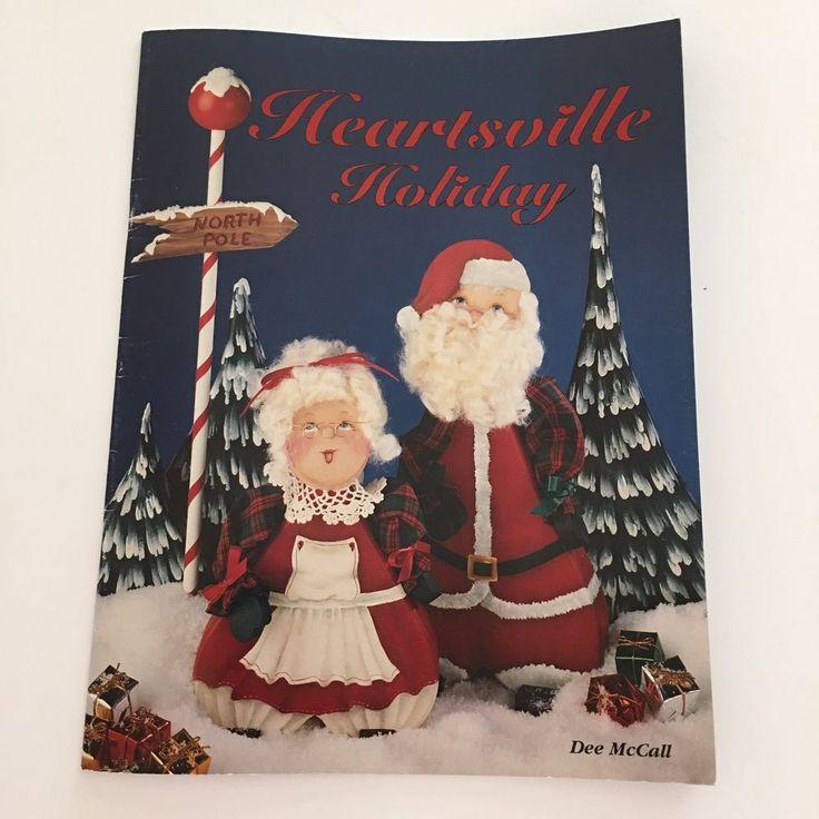 Heartsville Holiday Dee McCall Christmas Winter Tole Decorative Painting  #DarrowPublishing #DecorativePainting