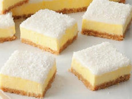 lemon cheesecake slice...