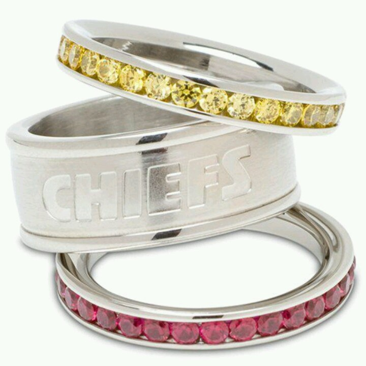 KC Chiefs rings. Definitely need these :-)