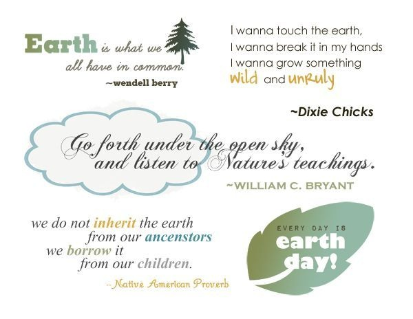 earth day quotes - photo #13