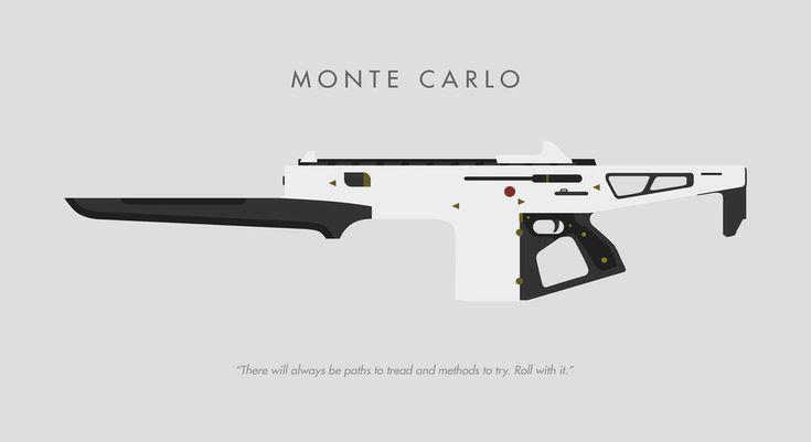 Monte Carlo Minimalist Poster made by Reddit user Wabbajack_Wabbajack