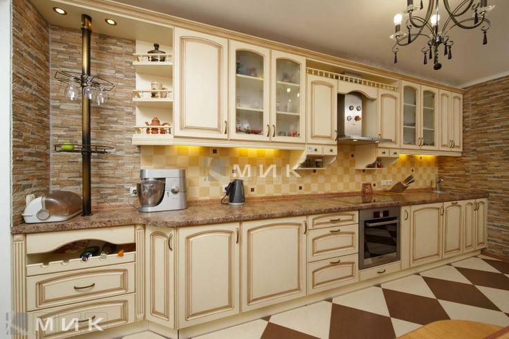 Кухни на заказ производства MIK (Киев), качественная кухонная мебель
