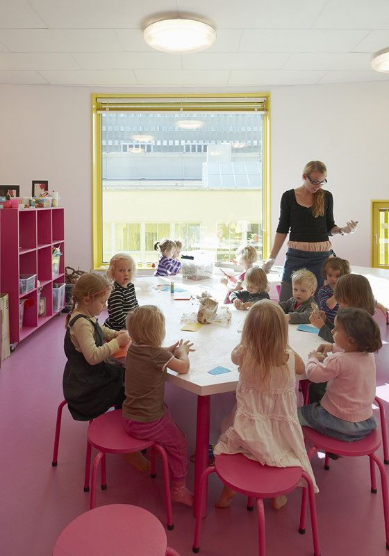 Tham & Videgård Arkitekter-Tellus Nursery School
