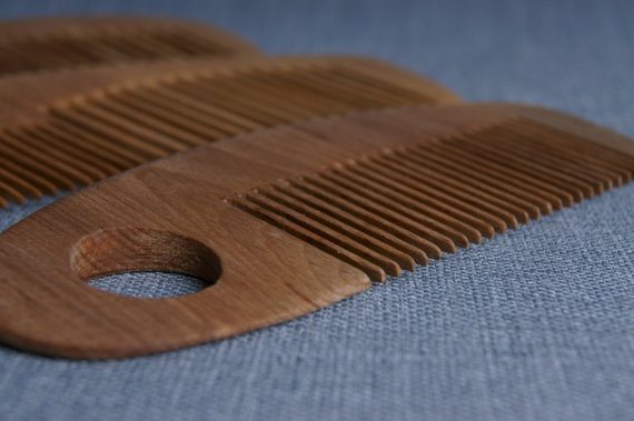 Wooden Combs 3 pieces Handmade, Hair Care, Herbal Comb, Hair Brush