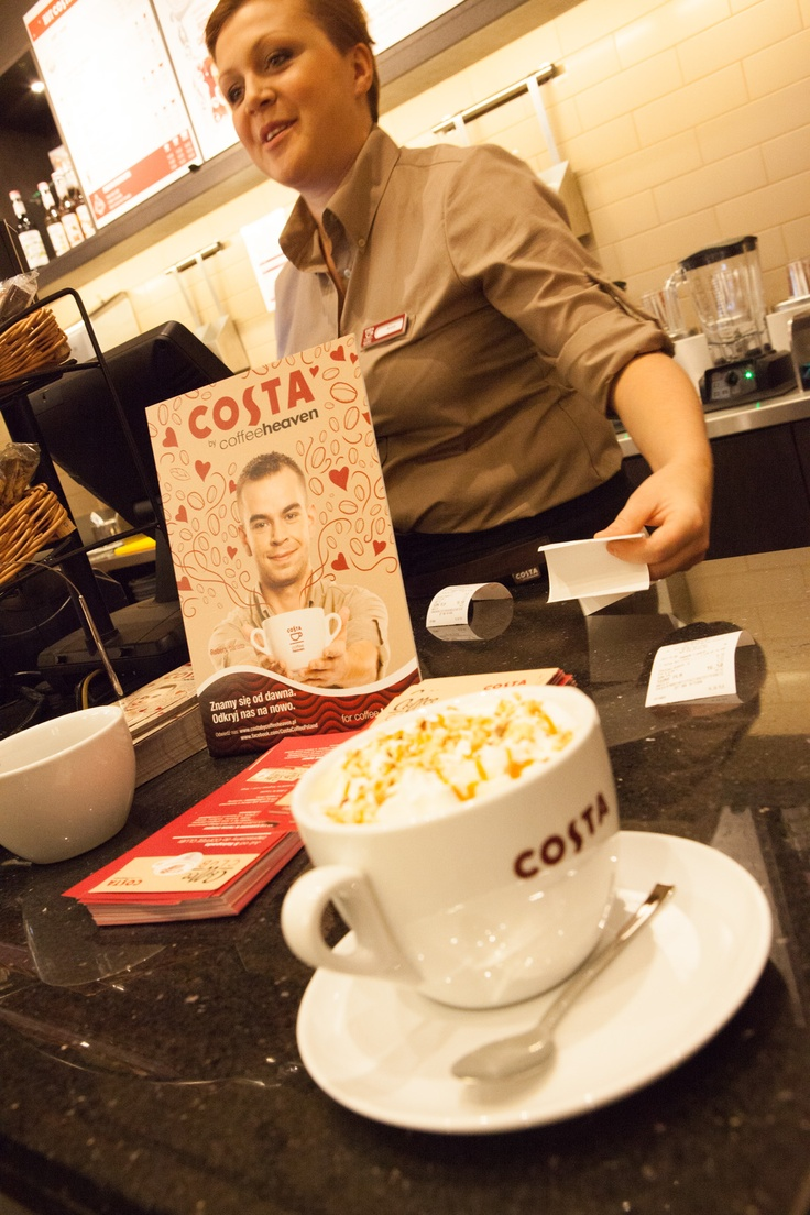 Barista from COSTA by coffeeheaven. Rzeszów, Poland.