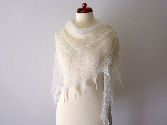 lace bridal shawl wedding shrug cover up knitted lace scarf