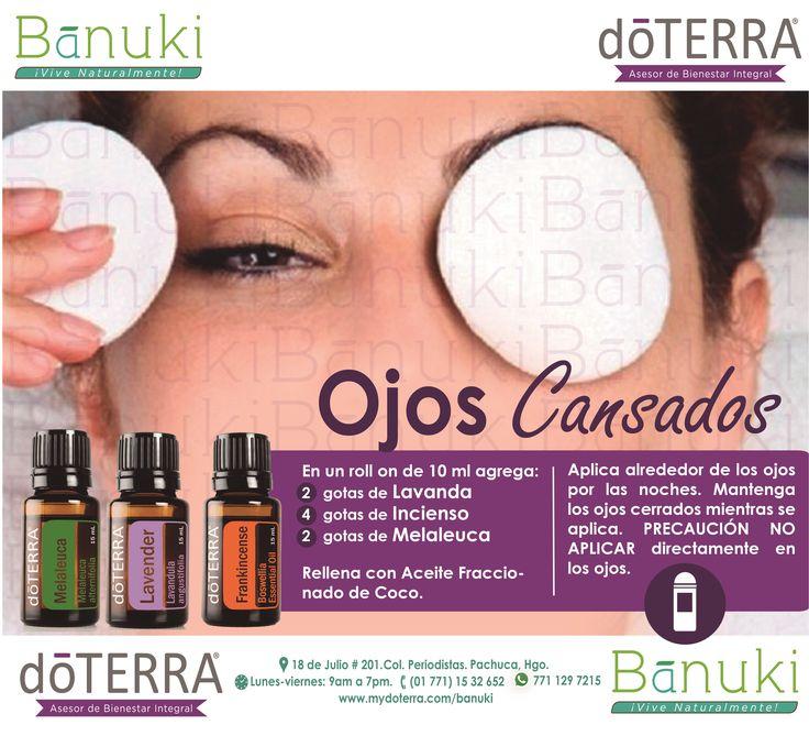 #Ojos #Cansados Los aceite esenciales de #Lavanda, #Incienso, y…
