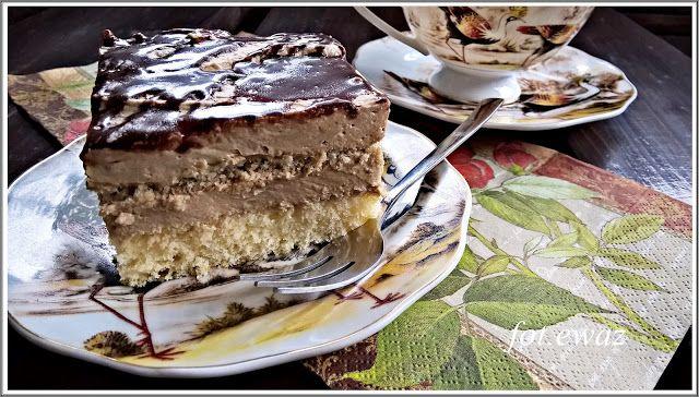 Ewa w kuchni: Ciasto cappuccino