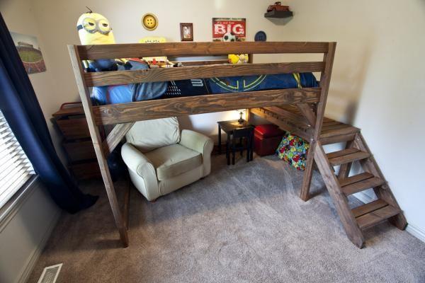 Они называют это замок кровать | Do It Yourself Главная Проекты от Ana White