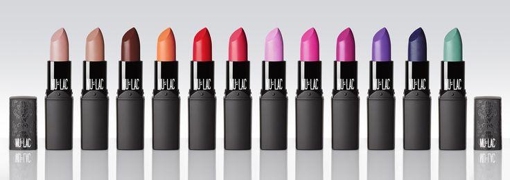 Rossetti Mulac Cosmetics Wacky, colore ed estro per una nuova collezione!
