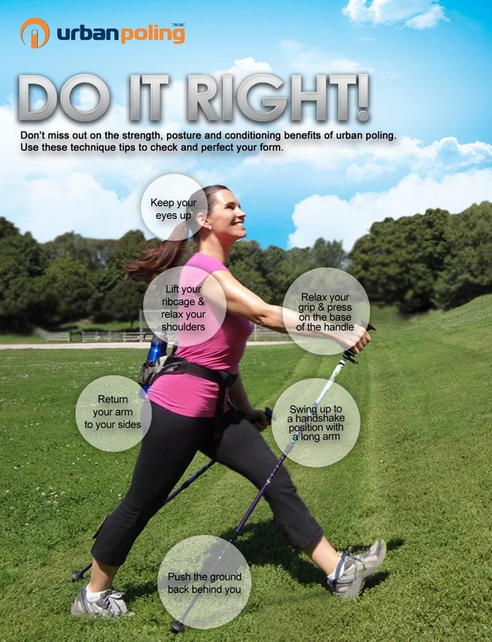 Nordic Walking - Do It Right!