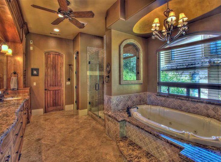 21+ Travertine Shower Ideas (Bathroom Designs. Mediterranean ...