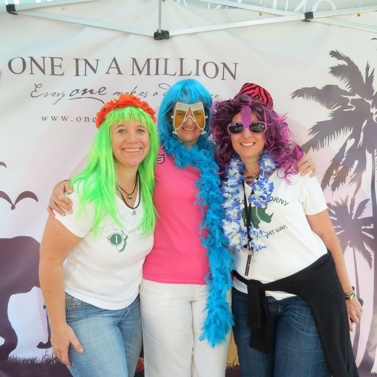 Mr Price Pro -our 'One in a Million' photo booth raising money for wildlife conservation.#oneinamillionsa