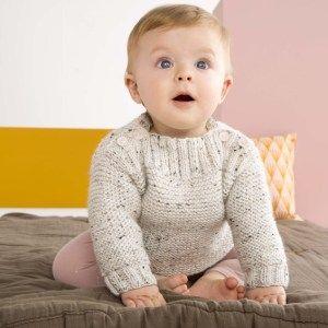 Petite marinière en tricot | Les Lubies de Louise | Tricot ...