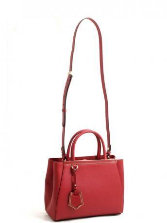 Fendi-red fendi petite 2jours small bag-fendi petite 2jours rosso mattone-Fendi shop online
