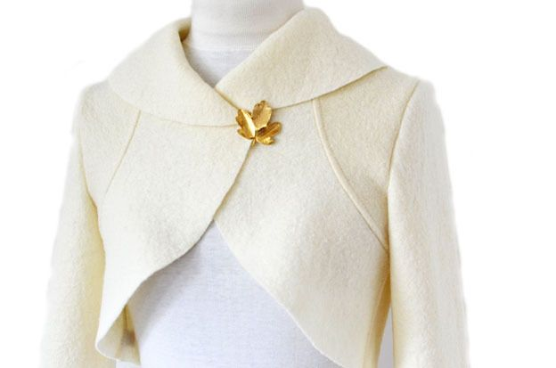 bridal bolero jacket.