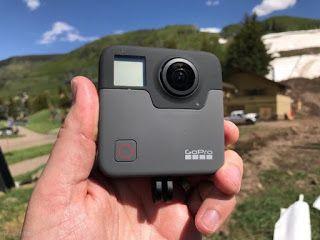 TeknoLut: GoPro Fusion, Inovasi GoPro di Kamera 360 Derajat