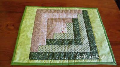 Tovaglietta patchwork