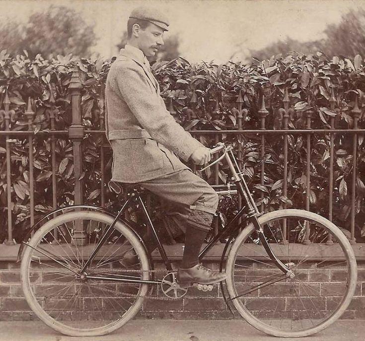 Victorian Cyclist.