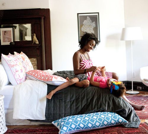 simple bedding: Simple Beds, Newest Collection, Decor, Aphroch, Fun Bedrooms, Graphics, Latest Collection, Pillows Talk, Africans Prints