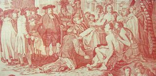 Penn's Treaty Toile