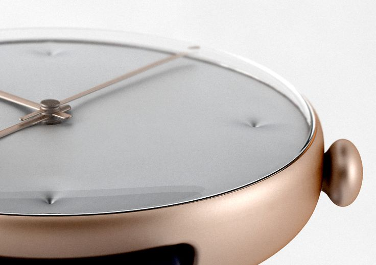 We currently working on the Chester Watch. It consists of an alloyed metal body with a domed glass. The numbers on these two different nice dial faces are handmade by embossing which gives the surface a noble Chesterfield character. The watch comes with a leather or rubber band. Contact us for further informations — Studio Dreimann, Hannover
