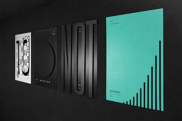 Honest Statement Typography : minimalist typography