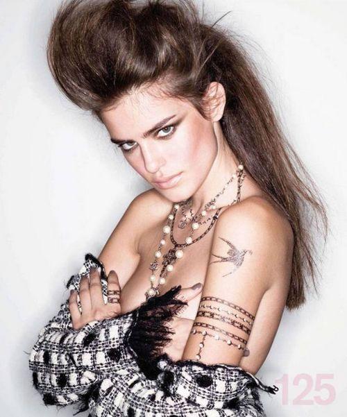 hair up punk & rock n' roll