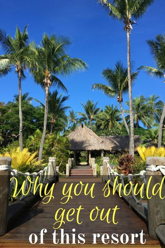 Why You Ll Want To Get Out Of Outrigger Fiji Beach Resort Travel Wander Pinterest Resorts And
