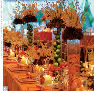 35 best wedding centerpieces summer wedding centerpieces images on tropical wedding table eye candy vibrant colors fruit in centerpiece hot hot hot junglespirit Images