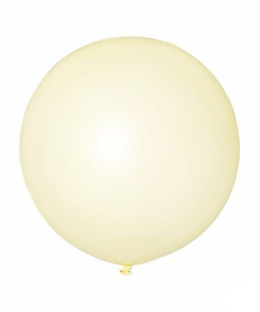 6 Pack 36 Ivory Balloons HUGE Latex Balloons by PartySparkles