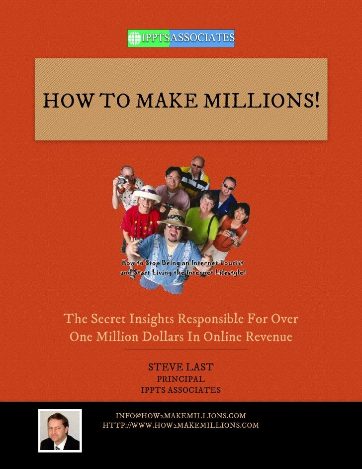 how to make millions online for free