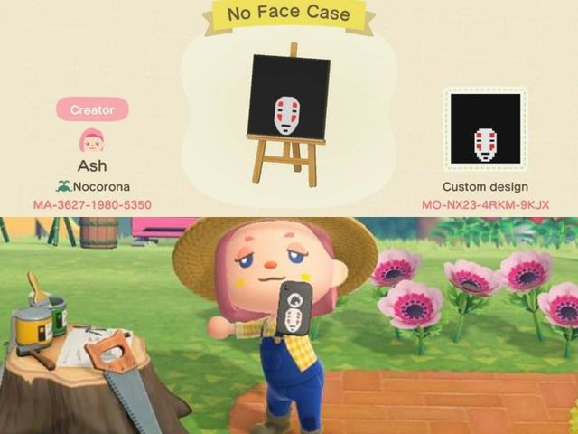 No Face Phone Case Spirited Away Acqr In 2020 Animal Crossing Animal Crossing Game Animal Crossing Qr