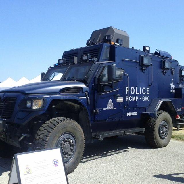 RCMP Emergency Response Team SUV | Police