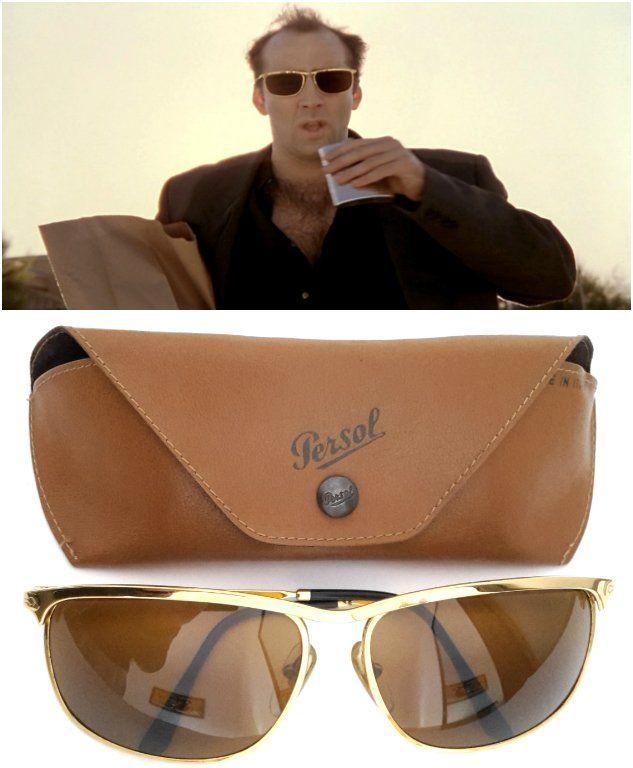 d99037e3d4 Vintage Persol Ratti Key West sunglasses. Worn by Ben Sanderson aka Nicolas  cage in the 1995 movie Leaving Las Vegas