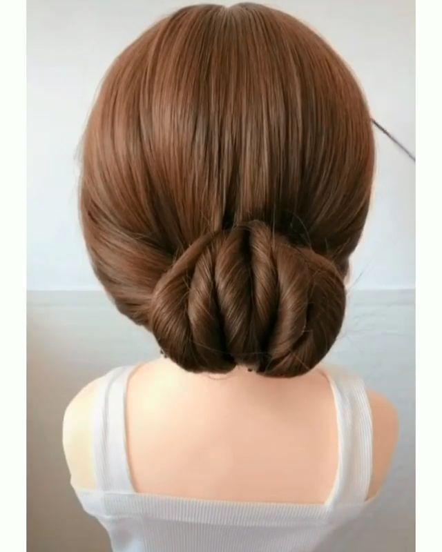 Elegant Hairstyle Easy Hairstyles Easy Hairstyle Video Elegant Hairstyles