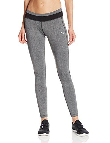 Puma Women\u0027s TP Long Tights, Black Heather, Small PUMA http://www