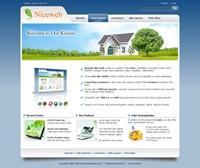 Niceweb-SteelBlue Skin // SEO Standard Menu // W3C Xhtml