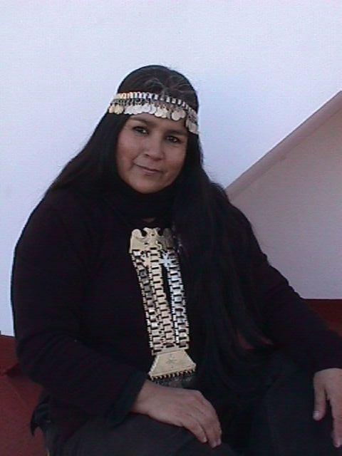 ARGENTINA SILVIA RINQUE - Platera Mapuche Originaria - Platería Mapuche - Retrafe Mapuche - Peul Mapu - Argentina