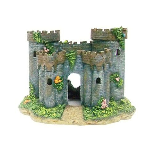 20 best images about life in a tank on pinterest for Fish tank castle decorations