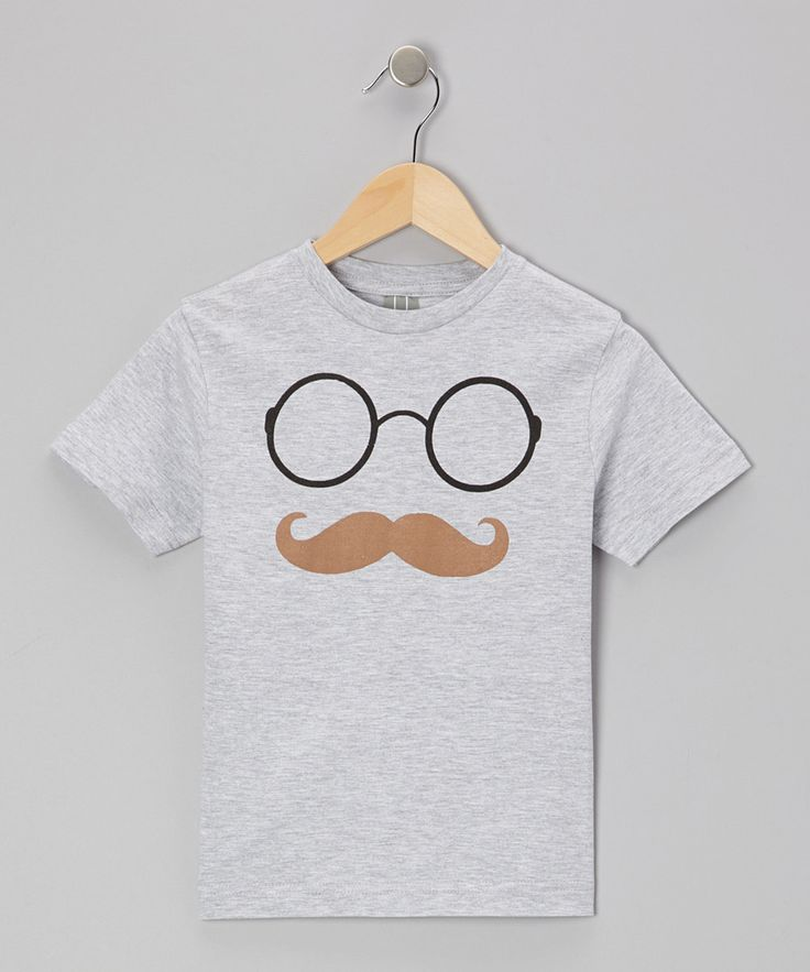 Glasses 'Stache Tee.